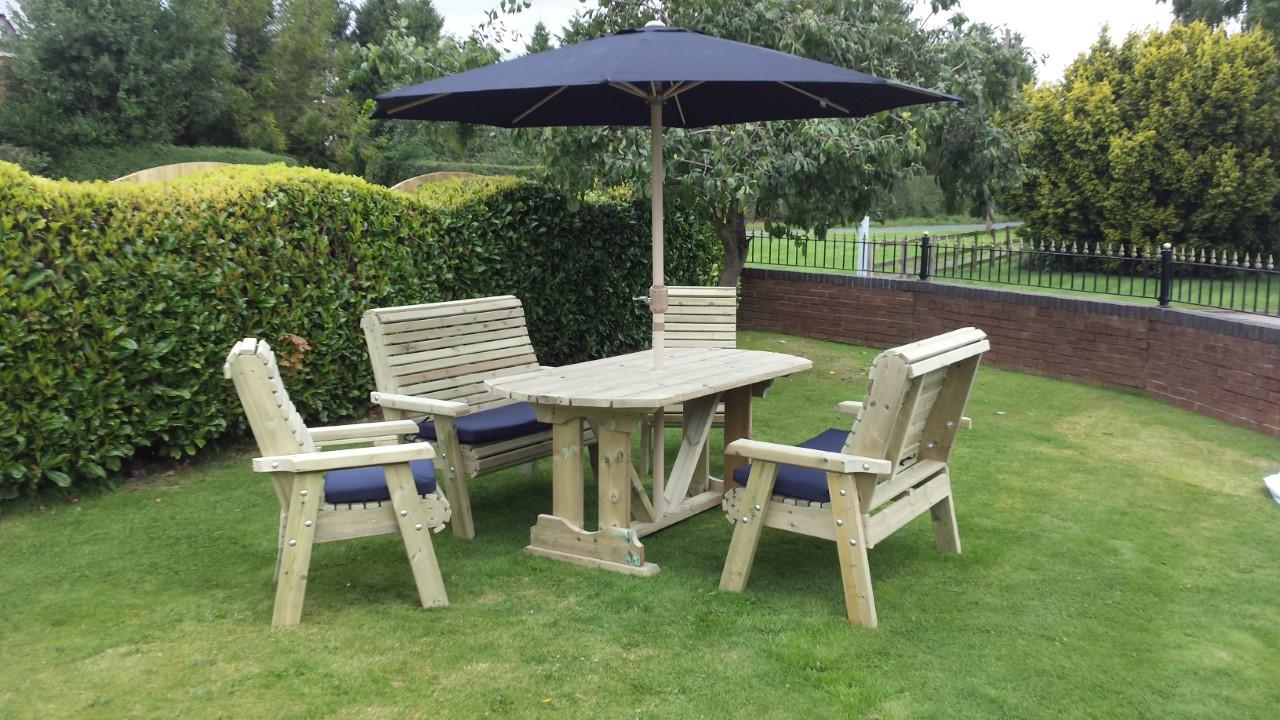 Ergo 6 Seater Outdoor Dining Set