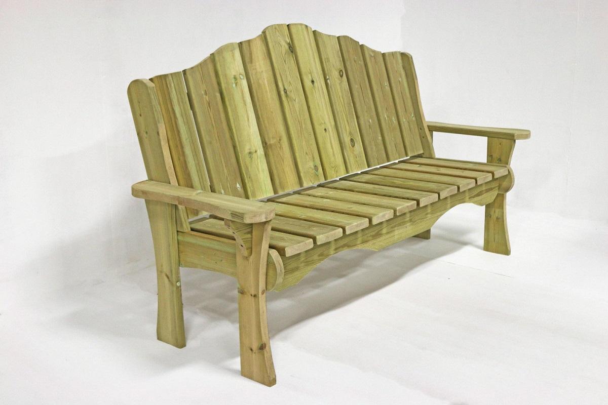 Awe Inspiring Alton Manor Wooden Bench Customarchery Wood Chair Design Ideas Customarcherynet