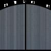 Composite Infill Gates