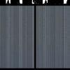 Middleton black composite gate