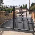 driveway gates double