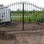 automated driveways gate custom design