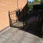 Double gate galvanised powder coated windsor